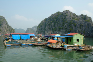 Cua Van Fishing Village-Halong-Bay
