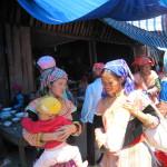 Muong Hum market Sapa Ethnic Ladies