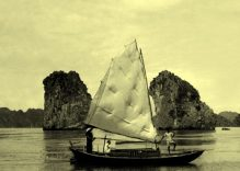 Old photos of Ha Long Bay on displayed