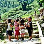 Cat Cat village Sapa - Children at village