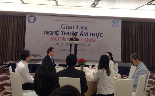 Ha Noi hosts Viet Nam-RoK culinary exchange
