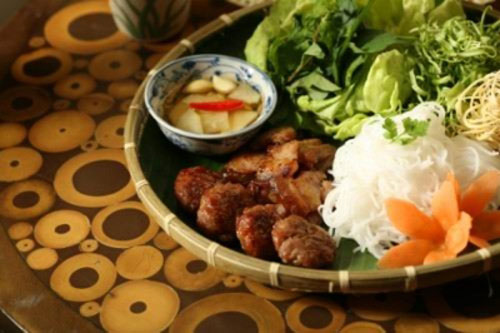 """Bun cha""- special dish of Hanoi"