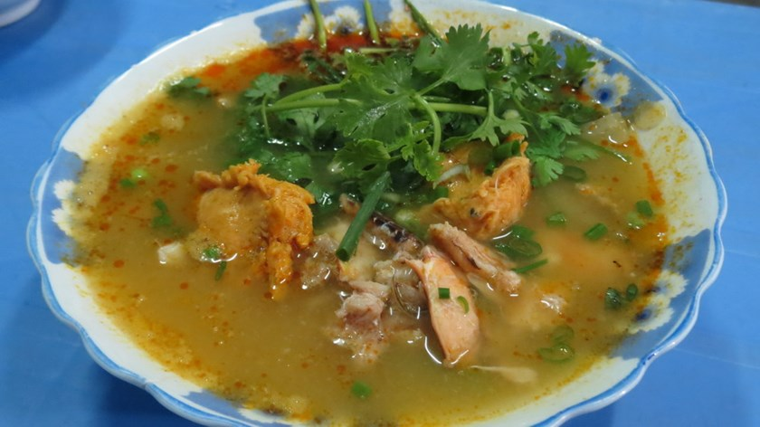 The oldest crab soup in Hue