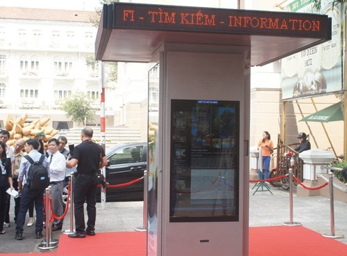 Ho Chi Minh City rolls out digital tourist info stations