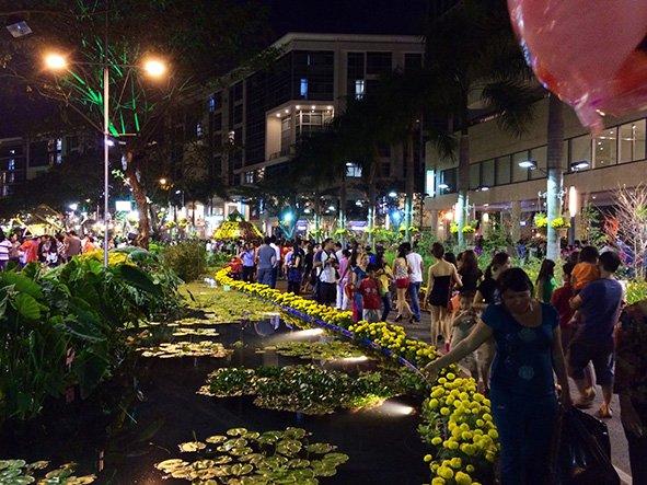 Touring Saigon at Tet