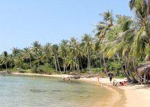 An untouched beach near Hoi An