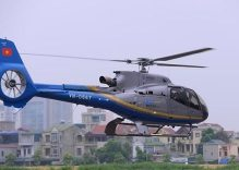Hanoi gets helicopter air taxi service