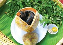 Go to Ben Tre to enjoy silkie steamed with coconut juice and chili