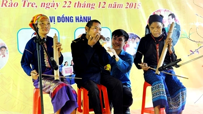 Chut ethnic people celebrate traditional Tet