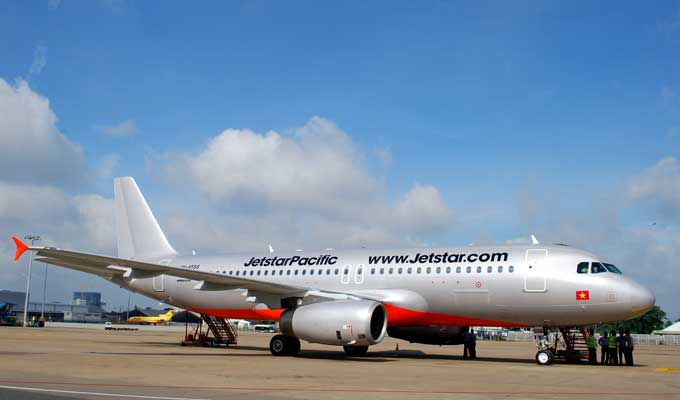 Jetstar Asia starts service from Singapore to Da Nang
