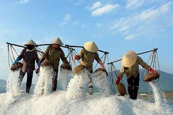 From sea to sun, salt making takes sacrifice