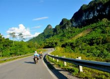 Motorcycling along Ho Chi Minh Trail