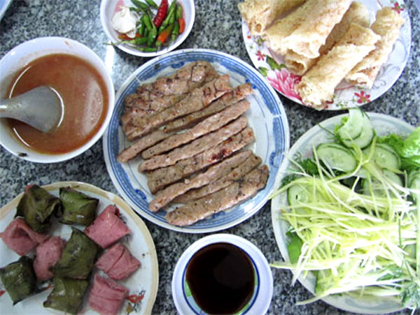 Binh Dinh's special food
