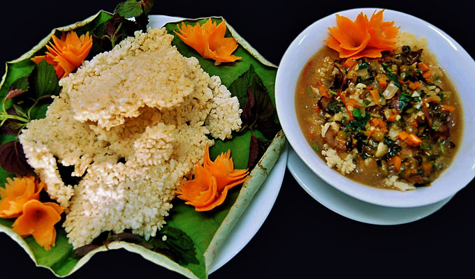 'Com chay' - a tasty dish of Ninh Binh