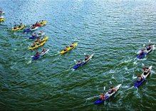 Kayakers to paddle in Da Nang beach