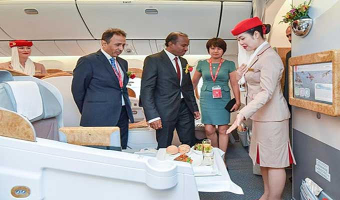 Emirates launches Dubai-Ha Noi air route