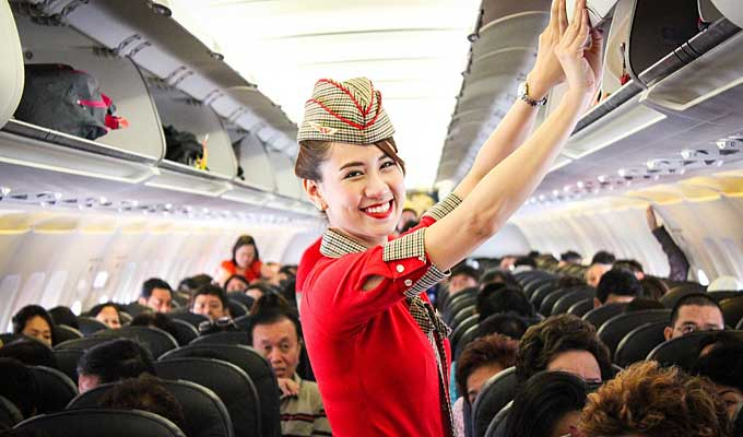 Vietjet offers promotional tickets on domestic routes