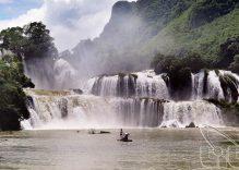 Stunning Ban Gioc Waterfall