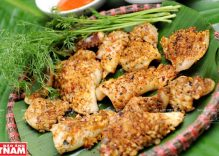 Squid grilled with lemongrass and chili
