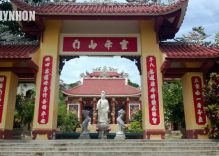 Ong Nui Pagoda – a tourist destination in Binh Dinh Province